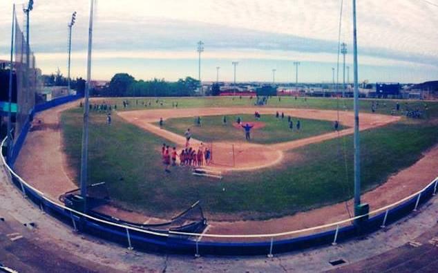 campo beisbol promocion