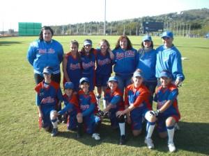 1er partido oficial del nuevo equipo de Softbol Mini