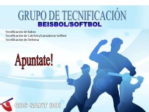 Grupo de Tecnificación del CBS Sant Boi