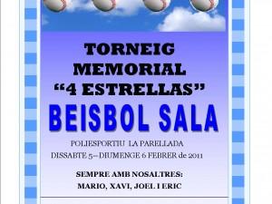 Torneo Memorial Beisbol Sala 4 Estrellas
