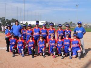 ¡Las chicas del Softbol cadete ganan su 1er partido en un Nacional!
