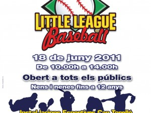 III Trobada Little League Baseball