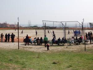 Jueves 9 de Junio de 2011, empiezan las obras para el nuevo estadio de Softbol