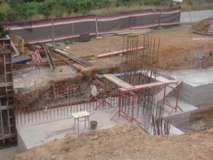 Buen ritmo de las obras del nuevo campo de Softbol en Sant Boi