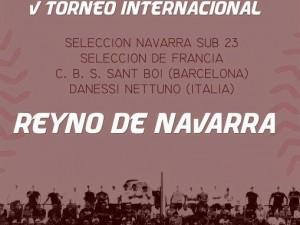 Sant Boi al Torneo Reyno de Navarra sub23