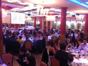 Gran velada en la Cena de Gala 2011