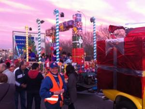Un año más, nuestro club participa en la Cabalgata de Reyes de Sant Boi
