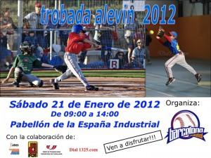 Trobada Alevín Beisbol Barcelona 2012