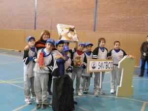 Sant Boi Alevín Campeon del 5º Torneo Beisbol Sala