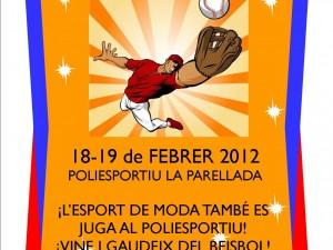 5º Torneo Beisbol Sala Alevín de Sant Boi de Llobregat