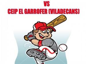 1er Partido de Beisbol Extraescolar en Sant Boi