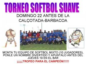 Calçotada + Torneo de Softbol Suave