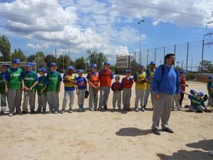 Éxito en el Mini Torneo de Beisbol Alevín