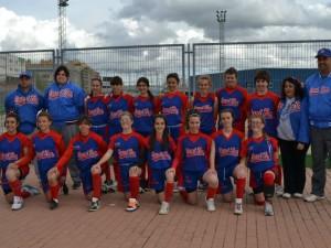 5º puesto en el Nacional Cadete de Softbol!San Sebastián Campeón!