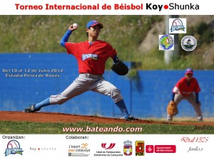Torneo Internacional de Béisbol Koy Shunka. Barcelona