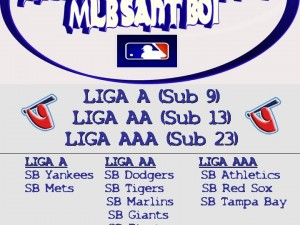 Hoy Martes 13 se inicia Liga Invernal MLB Sant Boi 2012