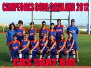 CAMPEONAS Copa Catalana Softbol Rookie 2012