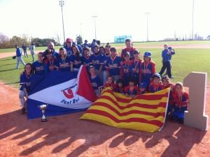 El Softbol esta muy VIVO en Sant Boi