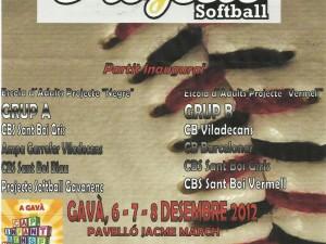 Torneo Navidad Softbol Sala 2012