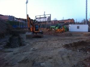 Inicia la 2ª fase del Estadio de Softbol