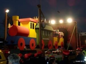 Espectacular Carroza de Reyes del CBS Sant Boi