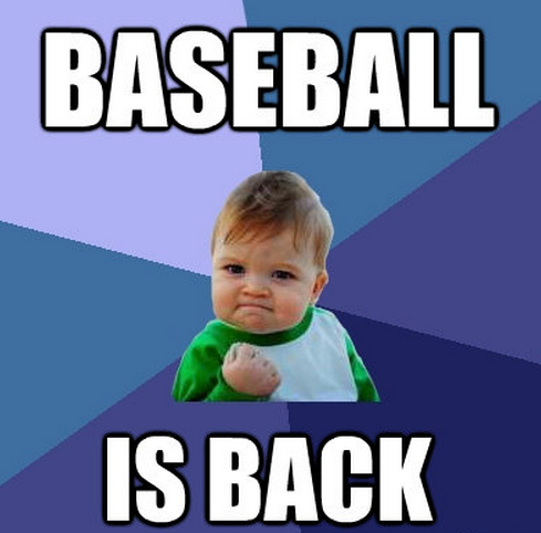 baseball is back