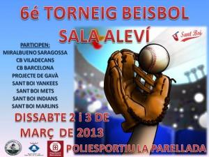 Ya esta aquí, la 6ª edición del Beisbol Sala Alevín