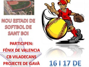 I Torneo Softbol a Sant Boi 2013
