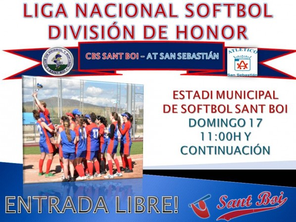 PARTIDO LIGA 2013 SOFTBOL