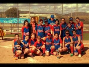 Sant Boi CAMPEON II Torneo Softbol Internacional Gavà Cup