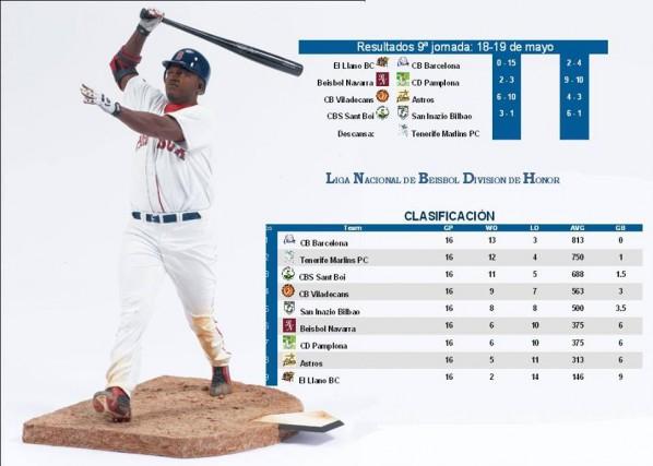 foto de beisbol burlada