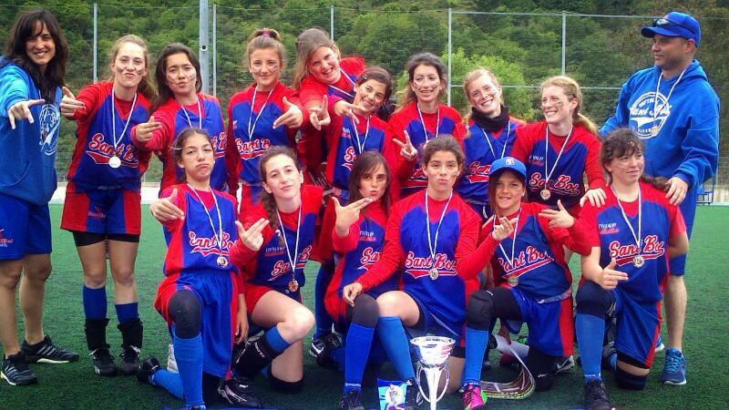 SUBCAMPEONAS DE ESPAA SOFTBOL CADETE