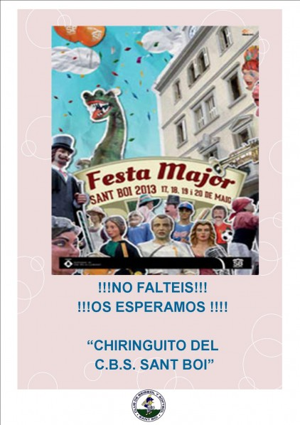 CARTELL FESTA MAJOR 2013
