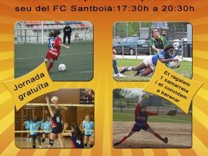 Éxito en la jornada SB Boig per l'esport femení 2013