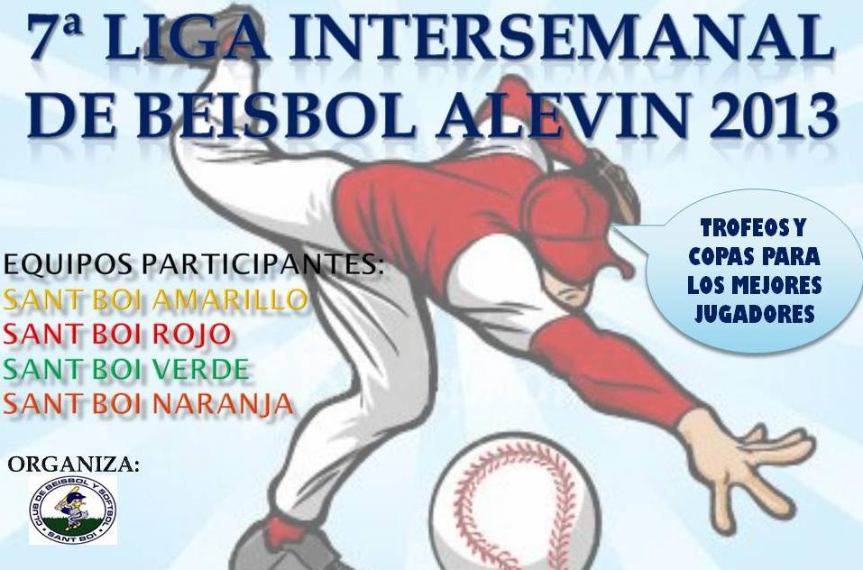 poster intersemanal alevin 2013