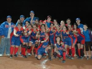 Sant Boi CAMPEON de Liga Nacional  Softbol 2013