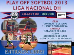 El primer equipo de Softbol a por el Título de Liga Nacional 2013