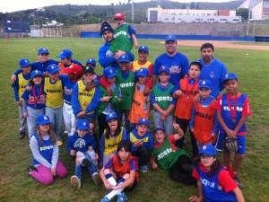 SB Verde y SB Azul Finalistas de la Liga Intersemanal Alevin 2013
