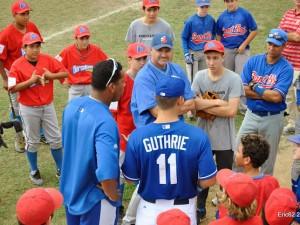 Gran éxito con los jugadores MLB en Sant Boi