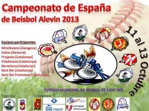 Se acerca el Nacional Alevin 2013
