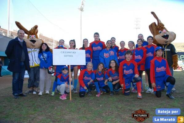 Softbol Cadete Campeonas