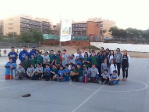 Éxito en el 1er Festival de Beisbol extraescolar de Sant Boi