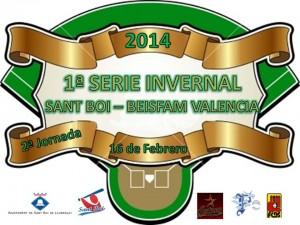 2ª Jornada Serie Invernal 2014