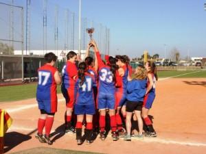 Campeonas Gava Cup Softball 2014