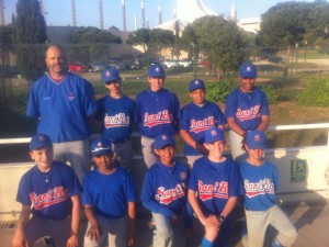 Entrenamientos previos a Little League España
