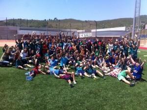 Escola Joan Bardina cierra el curso en nuestro estadio