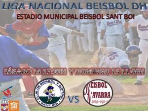 Los de Candelario Díaz reciben a Beisbol Navarra