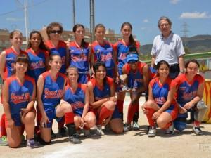 SubCampeonas de España Softbol Juvenil 2014