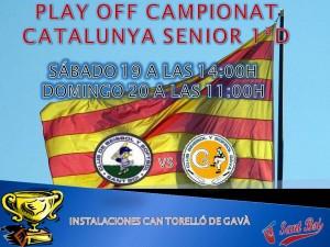 Play Off Senior 1ª Campeonato de Catalunya