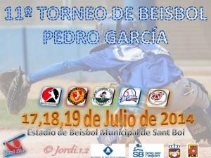 11º Torneo Pedro García 2014